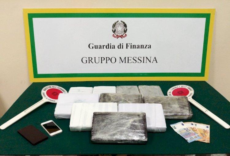 Messina: fermato un 20enne con mezzo chilo di cocaina