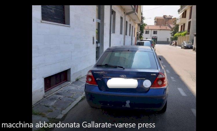 Gallarate, auto da rimuovere in via San Rocco
