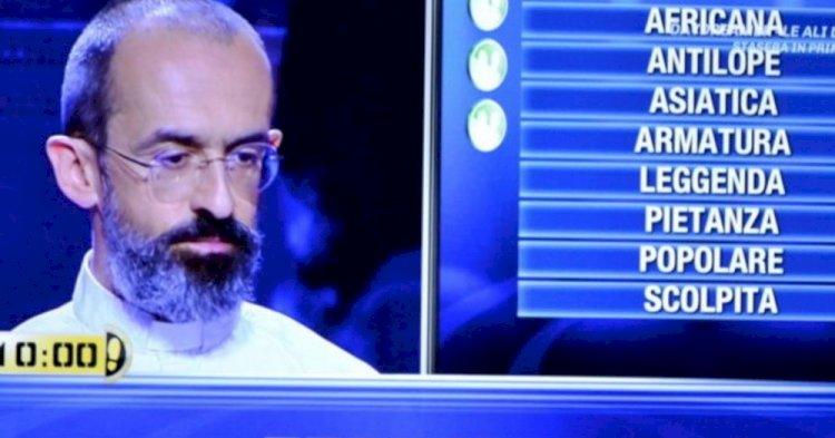 Rho: Don Andrea Rabassini ha vinto venticinquemila euro a Caduta Libera