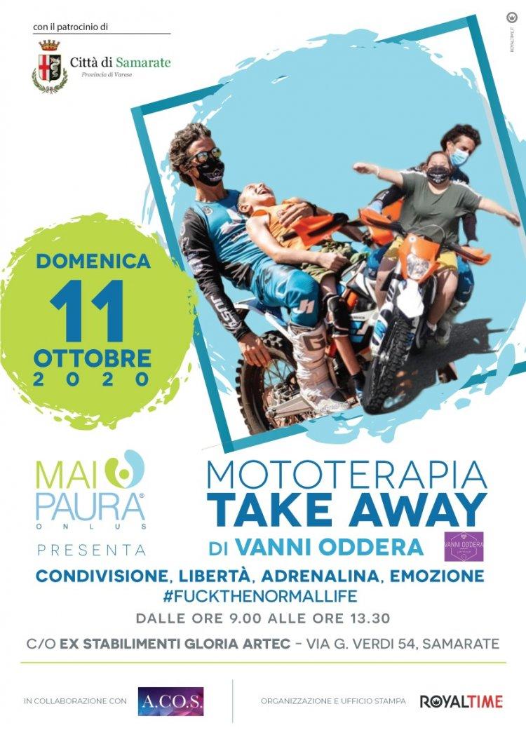 MOTOTERAPIA TAKE AWAY: TAPPA DI FINE STAGIONE A SAMARATE