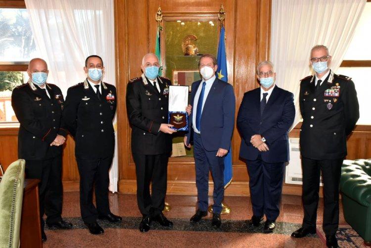 PROTOCOLLO TRA FEDERAZIONE MOTOCICLISTICA ITALIANA E L'ARMA DEI CARABINIERI