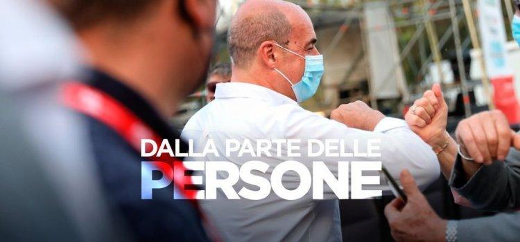 Zingaretti  direttiva sull'obbligo delle mascherine all'aperto a dir poco assurda