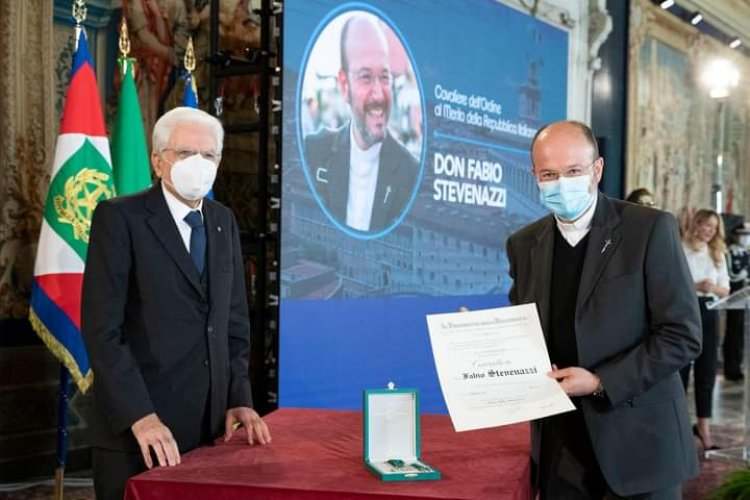 Roma, consegna delle onorificenze a chi si è distinto nella lotta contro il Covid