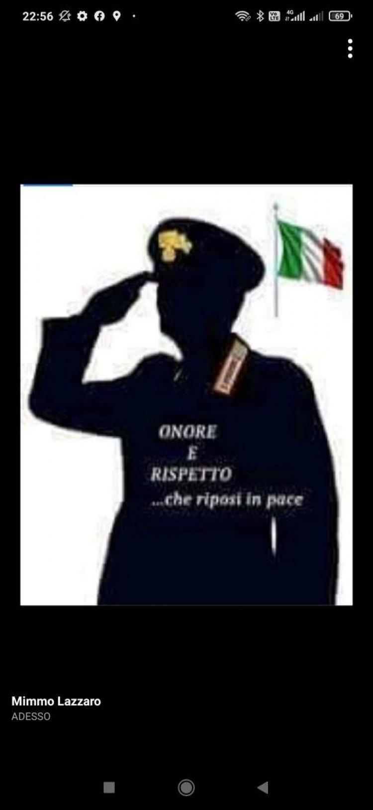 Compagnia Carabinieri di Vasto (CH), Carlo Pierabella, ci ha lasciato
