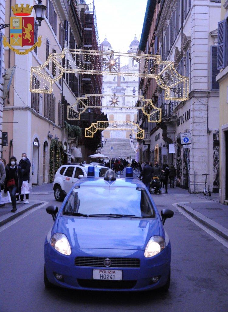 Roma. Primi arresti dell'anno da parte della Polizia di Stato.