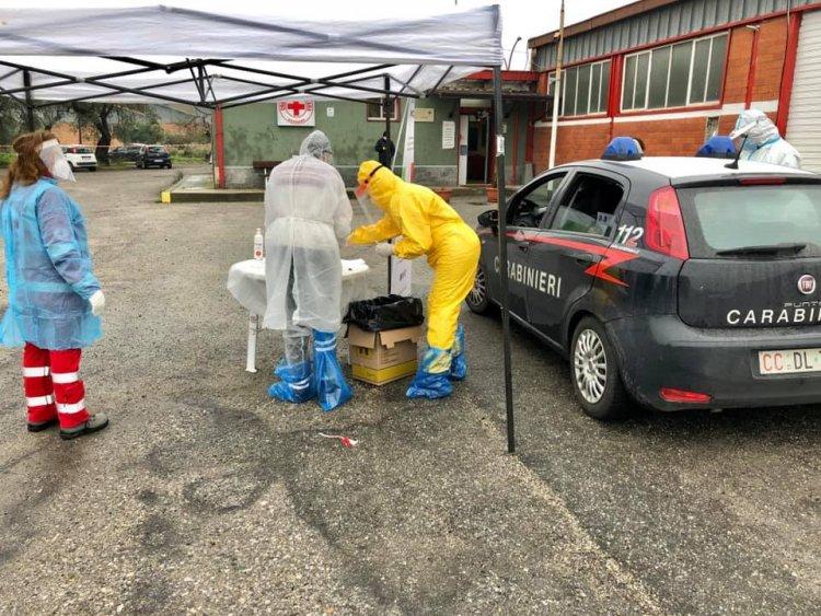 Effettuati 200 tamponi gratuiti nel comune unico di Corigliano-Rossano