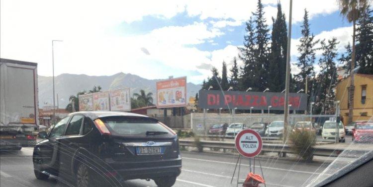 Palermo, caos in città