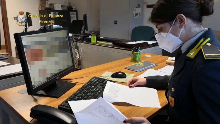 Guardia di Finanza di Firenze, 14 milioni sequestro preventivo