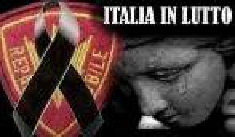 Arma in lutto, morte luogotenente Nero di Maceratata