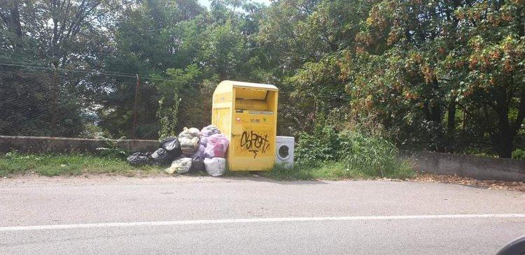 Varese, degrado, zone invase dall'abbandono di rifiuti