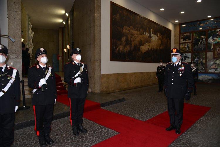 Generale di Corpo d'Armata Teo LUZI, visita il Comando Unità Forestali
