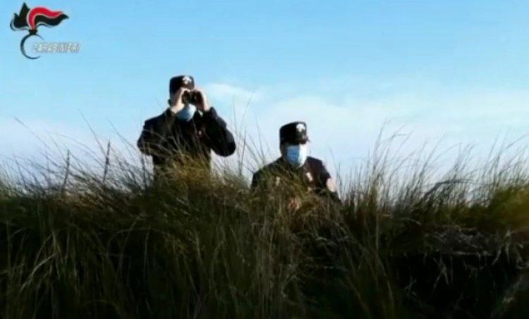 Caravate (VA). Carabinieri Forestali a tutela dell'ambiente .