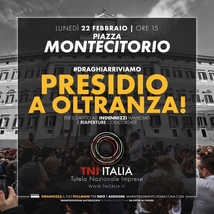 ''Marcia su Roma'', dei titolari di Bar, ristoranti e tutto il mondo del turismo