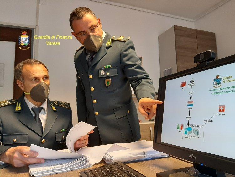 Viggiu'(VA): fittizia localizzazione all'estero di società italiana