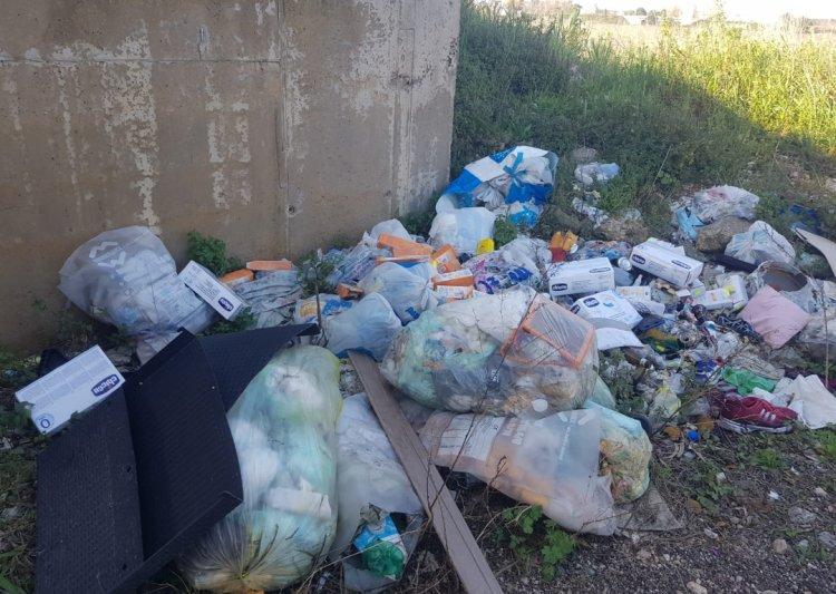 Busto Arsizio, scarico abusivo di rifiuti
