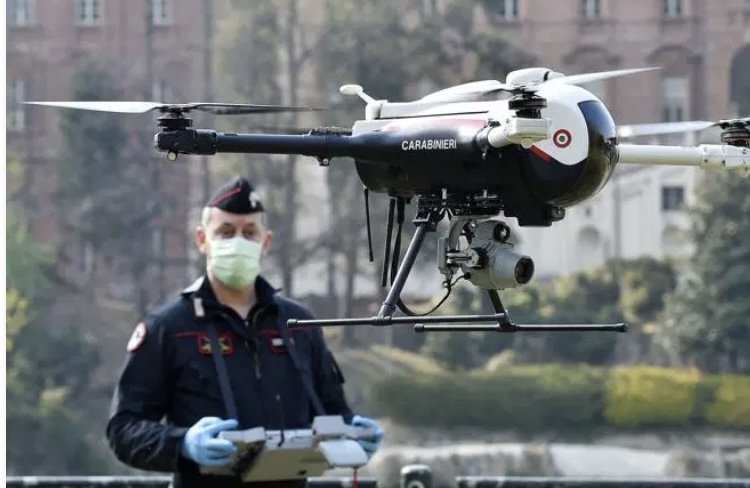 Droni della Polizia abbattuti a fucilate