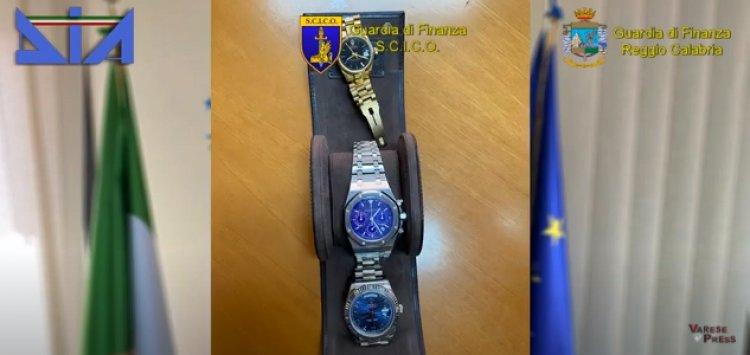 Ndrangheta, Bianco (RC): sequestrati nr. 27 orologi di lusso, grandi firme