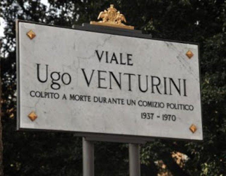 Primo maggio, ricordiamo la morte di Ugo Venturini al comizio di Almirante