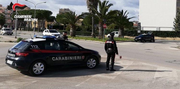 Siracusa. 36enne viola la quarantena denunciata dai Carabinieri.