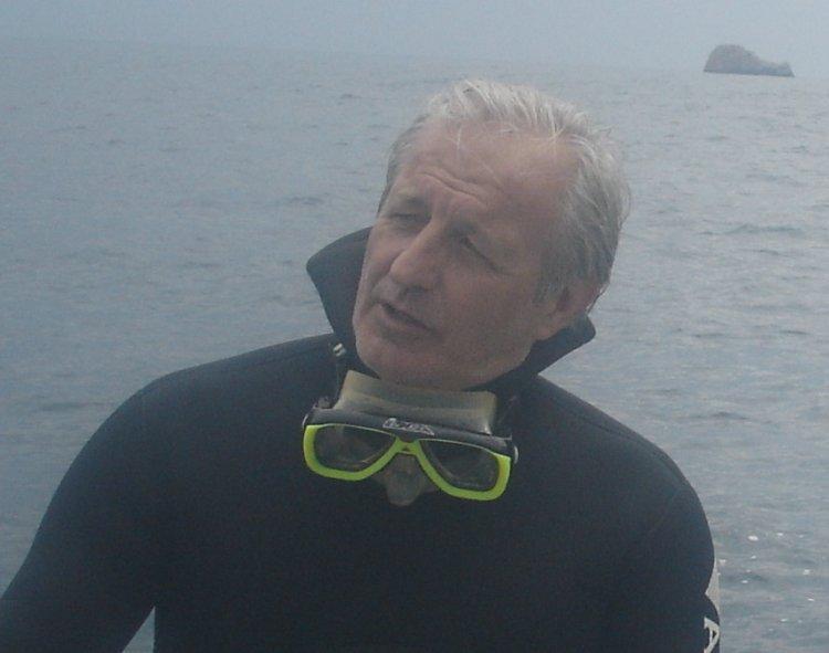 Gaetano Lino Responsabile Gruppo subacqueo di BCsicilia
