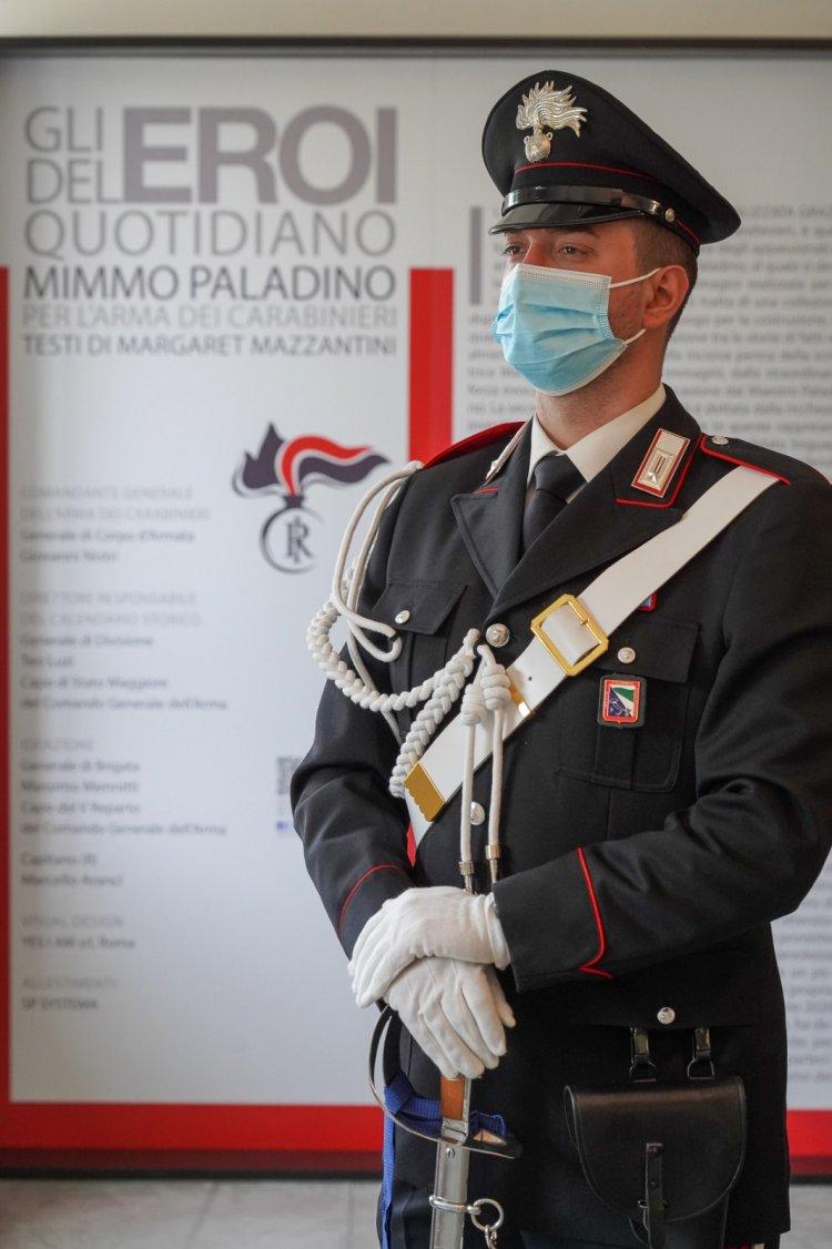 Bologna:EROI DEL QUOTIDIANO. Mimmo Paladino per l'Arma dei Carabinieri