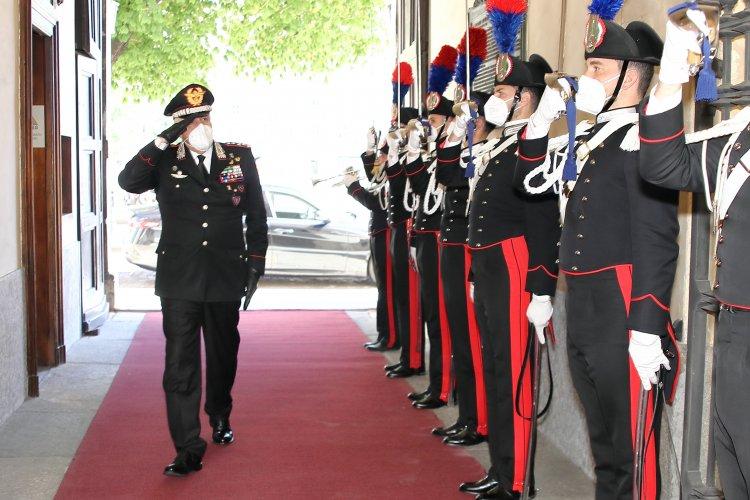 Torino, visita del Gen. C.A. Teo Luzi