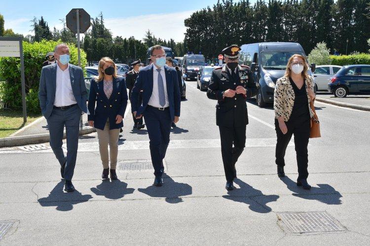 Difesa e sport, Deputati visitano il Centro Sportivo Carabinieri