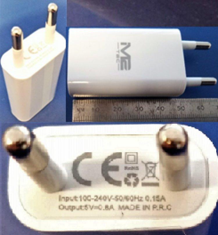 """Rischio scossa"",TecMarkt richiama quattro modelli di caricabatterie"