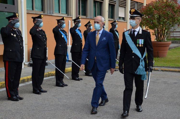 207 ° Anniversario annuale Fondazione dell'Arma dei Carabinieri