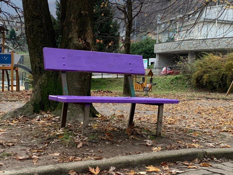 Lonate Pozzolo: sarà inaugurata una panchina viola