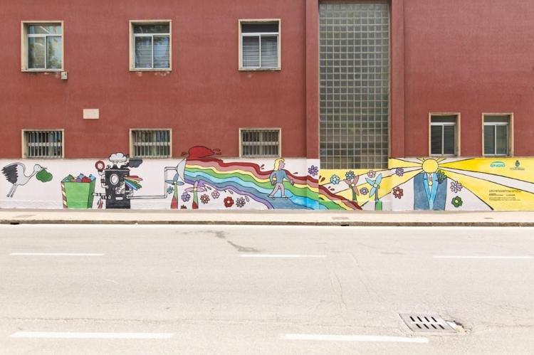 Cinisello Balsamo, un murale antismog per la tua città