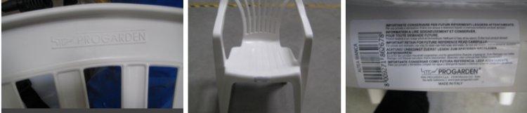 Rischio lesioni, Rapex segnala un richiamo per sedia in plastica Made in Italy.