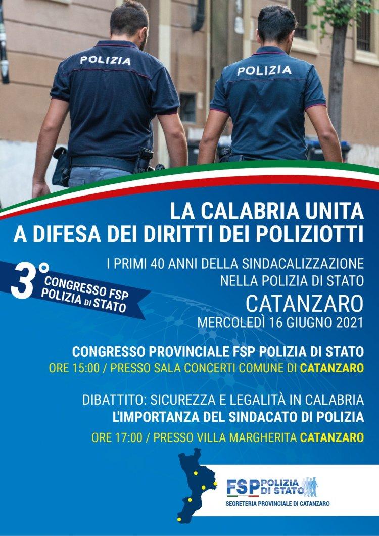 Sicurezza e Legalità in Calabria, l'importanza del Sindacato di Polizia