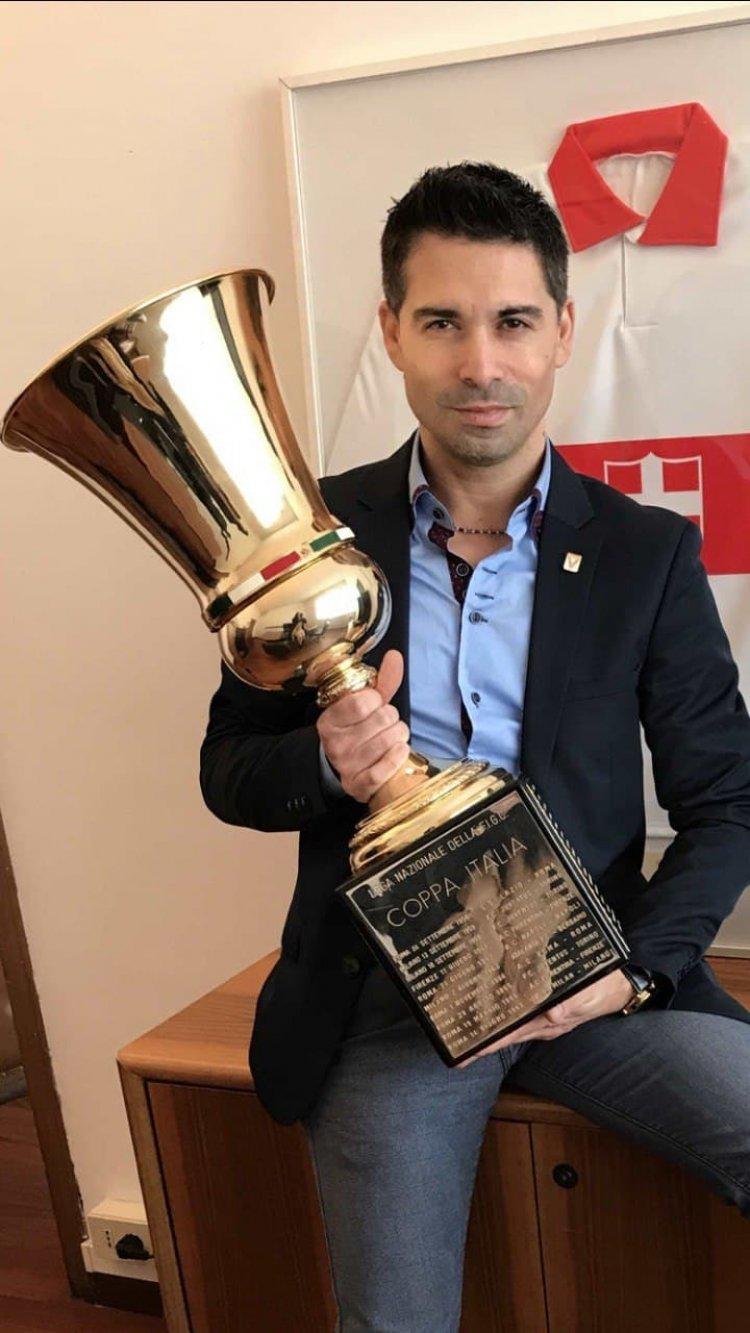 Fabio Sanfilippo Coppa Italia Vicenza Calcio