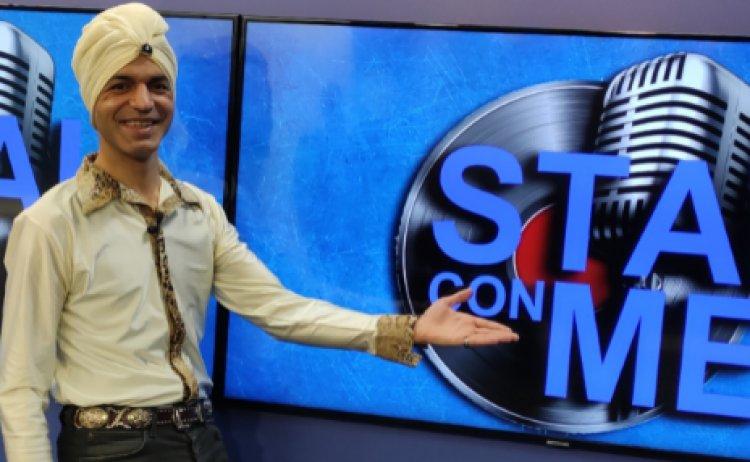 """A Settembre, su Tele Lazio Nord, Krassym con """"Stai con me """"."""