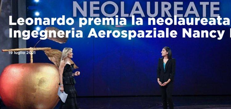 Nancy De Nunziosi aggiudica  Premio Bellisario